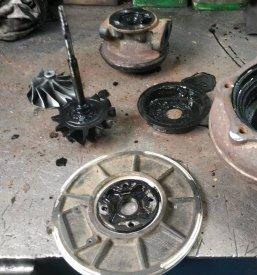 До ремонта турбины
