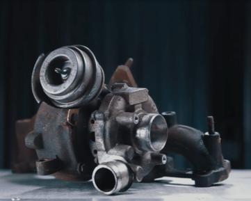 Турбина до ремонта